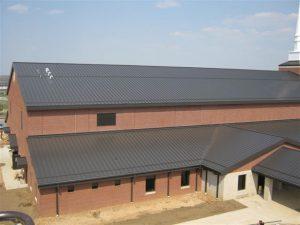 "2"" Standard Sno Barricade - Army Base Chapel - Fort Leonard Wood, MO"